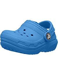 Crocs Classic Lined Clog Bright Cobalt, 1 M US Little Kid