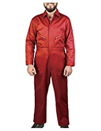 Walls 男士*红色 50 常规长袖斜纹连体衣