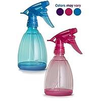 Empty 喷雾瓶 - 2 瓶 340.19 克可补充喷雾器,适合精油、水、厨房、沐浴、*、*和清洁 - 耐用触发喷雾器,带喷雾和流式模式
