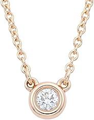 TIFFANY&CO 蒂芙尼 项链/吊坠 钻石 0.03ct 18KRG Elsa Peretti 设计系列 2833