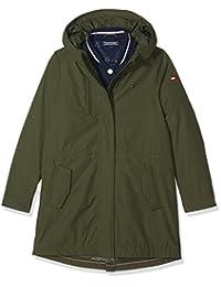 Tommy Hilfiger Thkg 2 IN 1 Parka girl jacket Green (Grape Leaf)