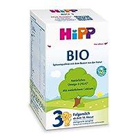 HiPP 喜宝 Bio 婴儿奶粉 3段(适用于10月以上婴儿),4盒装(4 x 600g)