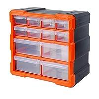 Tactix 12 抽屉柜、储物和硬件零件收纳袋 320630