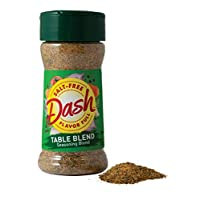 Mrs. Dash Seasoning Blend, Table Blend, Salt Free, 2.5 Ounce (Pack of 12) (新老包装交替发货)