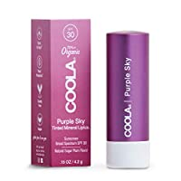 COOLA Suncare 矿物锂聚合物*有色唇膏 SPF 30 *霜 紫色天蓝色