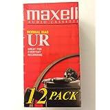 Maxell UR60 音频盒 12 个装