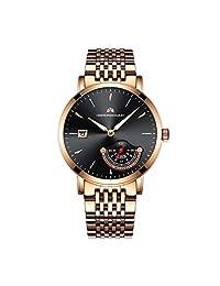 Christopher Bailey 英国品牌 自动机械男士手表 时尚经典商务多功能 C18051A