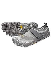 Vibram 男士 V-Aqua Black 徒步鞋