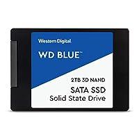 WD 内置SSD 2.5英寸 2TB / WD Blue 3D / SATA3.0 / WDS200T2B0A-EC