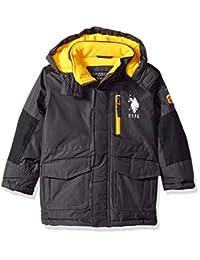 U.S. Polo Assn. 男孩派克大衣外套