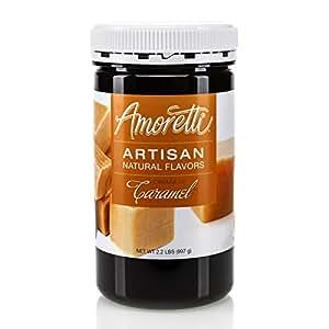 Amoretti Natural Artisan, Crema di Caramel, 2.2 Pound