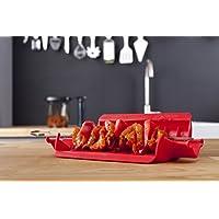 VacuVin梵酷 荷兰进口 快捷烤串签 大号 烤签 烤肉签 烧烤工具(亚马逊自营商品, 由供应商配送)