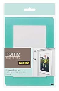 Scotch Display Frames, 5 x 7 Inches, Aqua Border, 2 Frames per Pack (SF900-HC-2AQ)
