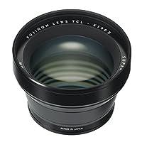Fujifilm Fujinon Tele 转换镜头 X100 系列相机,黑色 (TCL-X100 B II)