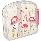 SugarBooger Good 午餐三明治盒 粉色(Flamingo)