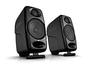 IK multimedia iloud 蓝牙音响 3寸录音棚音箱 桌面音箱 电脑扬声器 一对 黑色