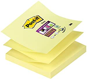 Post-It 监禁注解 Super Sticky Standard Collection 黄色