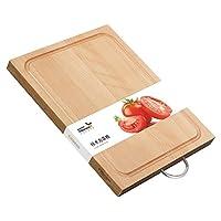 Millenarie 美珑美利 加厚菜板长方形砧板案板切菜剁肉 榉木方菜板