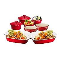 ZWILLING 双立人 陶瓷餐具8件套 樱桃红色