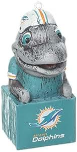 美国队运动 NFL Tiki Totem 吉祥物装饰品 迈阿密海豚队 3OT3816MAS