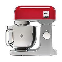 Kenwood 凯德伍 KMX750RD厨师机  高品质的金属外壳  高度抛光的5升不锈钢碗带手柄  行星搅拌系统  加料功能  1000W 红色