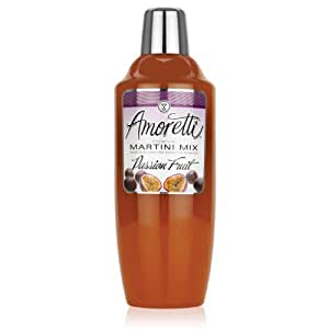 Amoretti Cocktail Mix, Passion Fruit, 28 Ounce (Pack of 12)