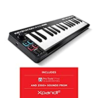 M-Audio Keystation Mini 32 MK3 超便携迷你 USB MIDI 键盘控制器,带 ProTools First 的M-Audio Edition 和 Xpand!2 AIR Music Tech 出品
