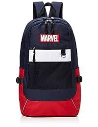 [漫威]帆布 网眼背包 网眼口袋背包 背包 背包 旅行背包 漫威 数字数字 背包 男士 大容量 MV-MBBK49