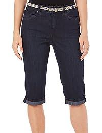GLORIA vanderbilt 女式 marnie 牛仔短裤
