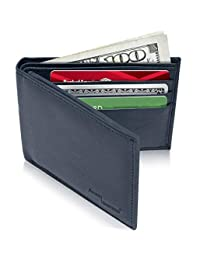 Access Denied Mens Leather Bifold Wallet RFID Blocking