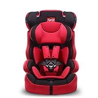 感恩 宝宝汽车儿童安全座椅 旅行者 9个月-12岁 红黑色(供应商直送)