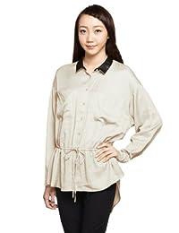 Esprit 埃斯普利特 女士 舒适休闲收腰长袖衬衫 KA1906