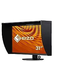 EIZO 艺卓 CG319X 79 厘米(31.1 英寸)显示器(2 x HDMI,IPS 广色域,4096 x 2160 (DCI-4K) 像素,2 x DisplayPort 1.2,4K 显卡)黑色