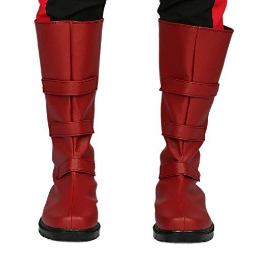 男士 Matt Cosplay 靴子鞋万圣节服装配饰