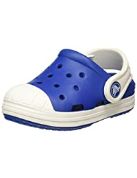 Crocs Unisex Kids Bump It Clogs, Blue (Blue Jean/Oyster), J1 UK (32-33 EU)