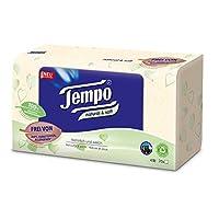 Tempo 手帕 天然 & 柔软手帕 大包装 (12 包 x 70 毛巾)