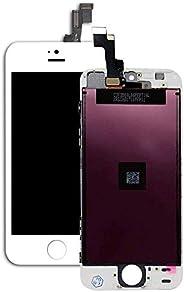 适用于 iPhone 5s 屏幕替换液晶数字化触摸屏组装套件(iPhone 5s 白色 4 英寸)