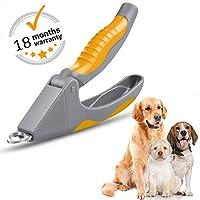 AIBORS 狗狗*钳,专业不锈钢宠物*剪和修剪器,适合中小型犬 黄色