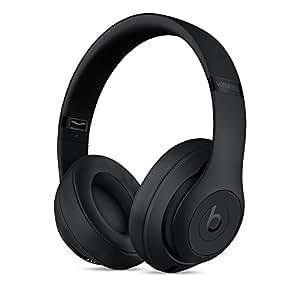 Beats Studio3 Wireless 录音师无线3代 头戴式 蓝牙无线降噪耳机 游戏耳机 - 哑光黑 带麦克风可通话 MQ562PA/A