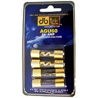 DB Link AGU60 60 安培金 AGU 保险丝 - 4 个装