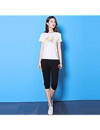 Paul Frank/大嘴猴女式短袖T恤+裤子运动套装家居服