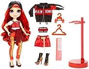 MGA Entertainment 彩虹娃娃 魯比安德森 紅色時裝娃娃 2套服裝