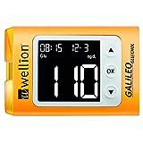 Wellion GALILEO GLU/CHOL PLUS 黄色套装(带弹出按钮)mg/dl
