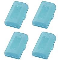 微笑兒童 日本制造 電池盒 藍色 2個裝 2套 ADC-322BL-2P