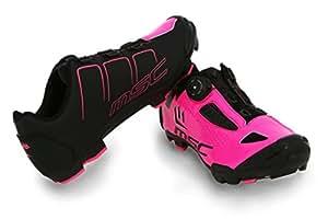 MSC 自行车 Aero XC 自行车鞋,紫红色,T-43