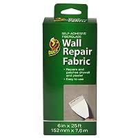 Duck Brand 282084 Self-Adhesive Drywall Repair Fabric, 6-Inch by 25 Feet, Single Roll