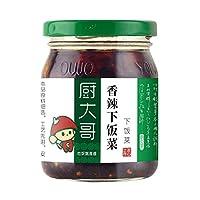 厨大哥香辣菜220g下饭菜拌面酱菜四川风味榨菜酱菜 (220)
