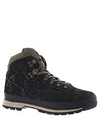 Timberland 男士 Euro Hiker 中帮面料时尚运动鞋