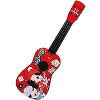 ddung 冬己 韩国 儿童尤克里里趣味小吉他 宝宝孩子益智早教迷你吉它 仿真可弹奏乐器 音乐玩具礼物 3C认证 红色