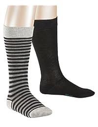 Esprit 男孩过膝袜 Stripes 2件装